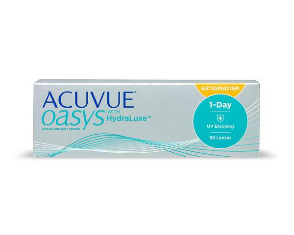 Acuvue contact lenses - Acuvue Oasys 1-Day for Astigmatism