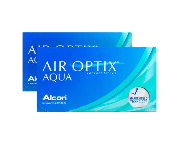 Air Optix contact lenses - Air Optix Aqua 6 Pack