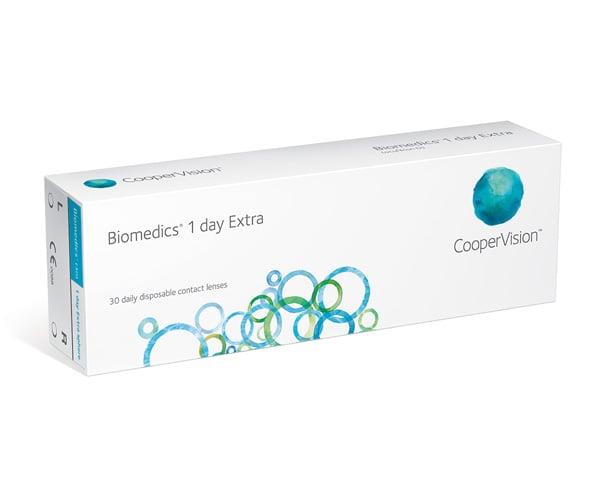 Biomedics contact lenses - Biomedics 1 Day Extra