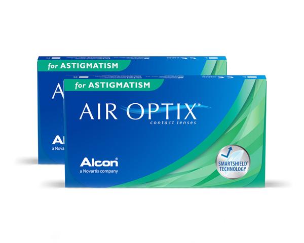 Air Optix contact lenses - Air Optix for Astigmatism 6 Pack