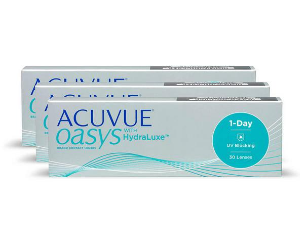 Acuvue contact lenses - Acuvue Oasys 1-Day 90 Pack