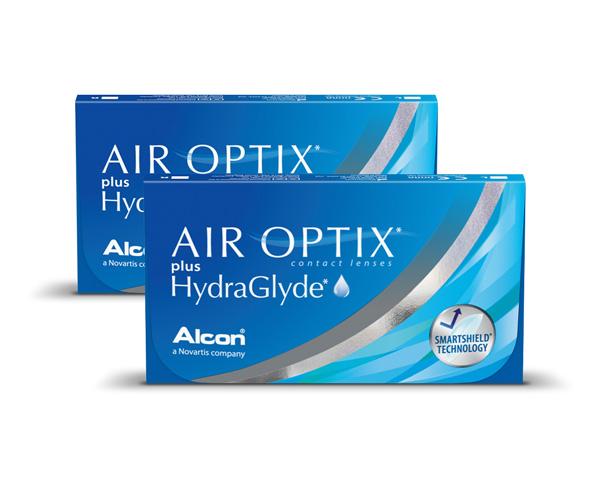 Air Optix contact lenses - Air Optix plus Hydraglyde 6 Pack
