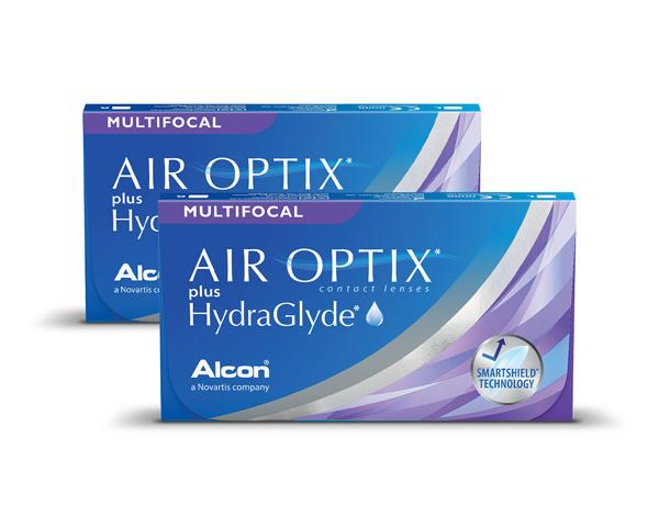 Air Optix contact lenses - Air Optix Plus Hydraglyde Multifocal 6 Pack