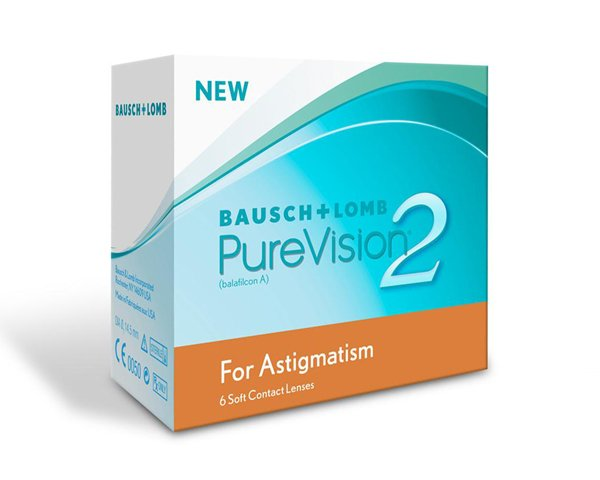 Purevision contact lenses - Purevision II for Astigmatism 6 Pack