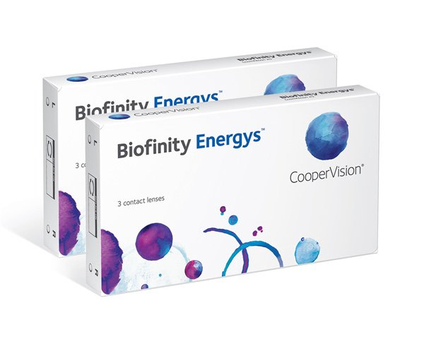 Biofinity contact lenses - Biofinity Energys 6 Pack