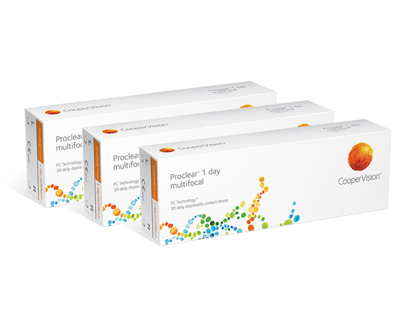 Proclear contact lenses - Proclear 1 Day Multifocal 90 Pack