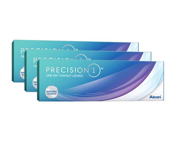 Precision contact lenses - Precision 1 90 Pack