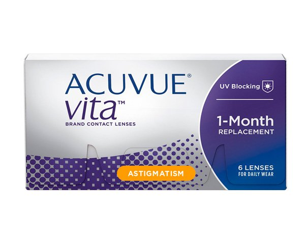Acuvue contact lenses - Acuvue Vita for Astigmatism 6 pack