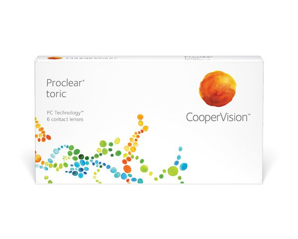 Proclear contact lenses - Proclear Toric 6 Pack
