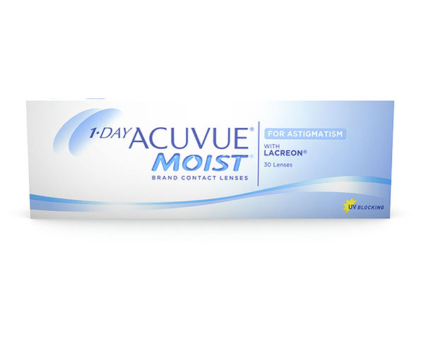 Acuvue kontaktlinser - 1 Day Acuvue Moist for Astigmatism