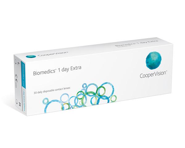 Biomedics kontaktlinser - Biomedics 1 Day Extra