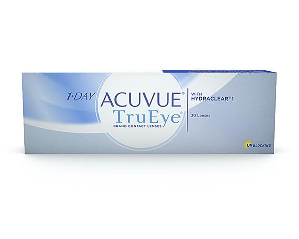 Acuvue piilolinssit - 1 Day Acuvue Trueye