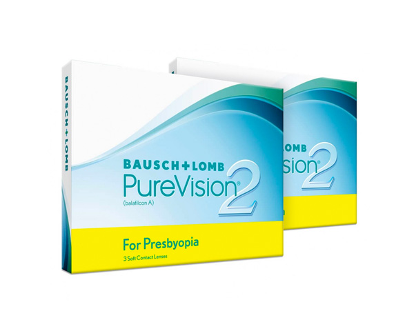 Purevision piilolinssit - Purevision2 for Presbyopia 6 linssiä