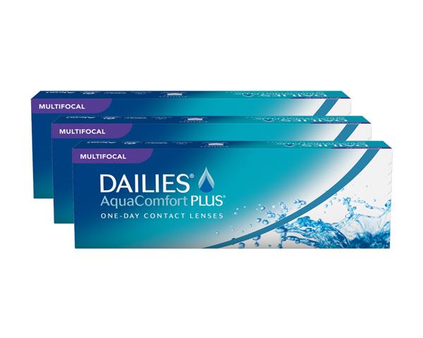 Dailies piilolinssit - Dailies Aqua Comfort Plus Multifocal 90 linssiä