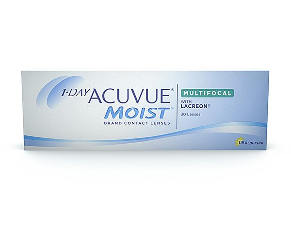 Acuvue piilolinssit - 1 Day Acuvue Moist Multifocal