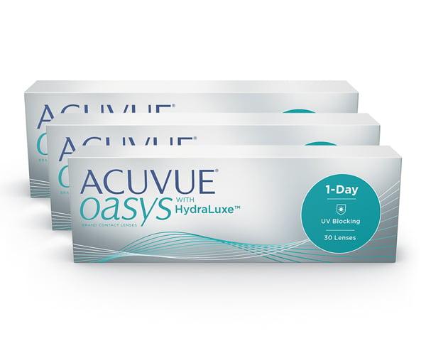 Acuvue piilolinssit - Acuvue Oasys 1-Day 90 linssiä
