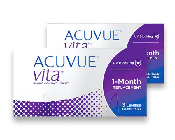 Acuvue piilolinssit - Acuvue Vita 6 linssiä