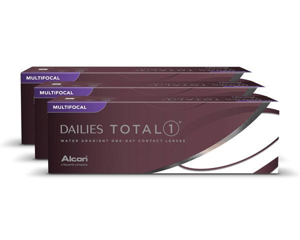 Dailies piilolinssit - Dailies Total 1 Multifocal 90 linssiä