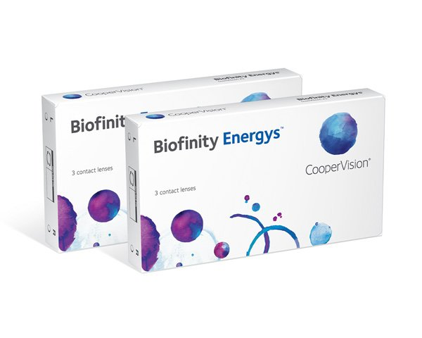 Biofinity piilolinssit - Biofinity Energys 6 linssiä