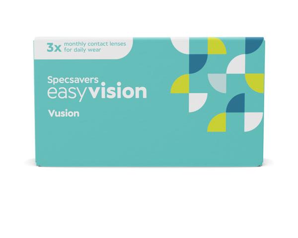 easyvision piilolinssit - easyvision Vusion