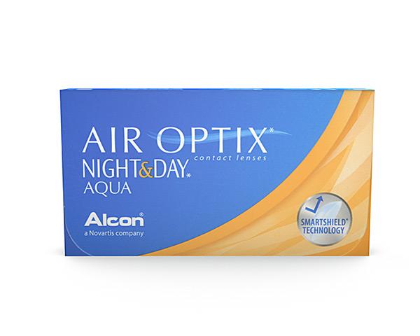 Air Optix contact lenses - Air Optix Night & Day Aqua