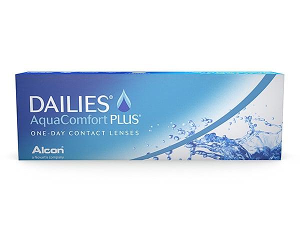 Focus contact lenses - Focus Dailies Aqua Comfort Plus
