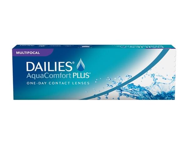 Focus contact lenses - Focus Dailies Aqua Comfort Plus Multifocal