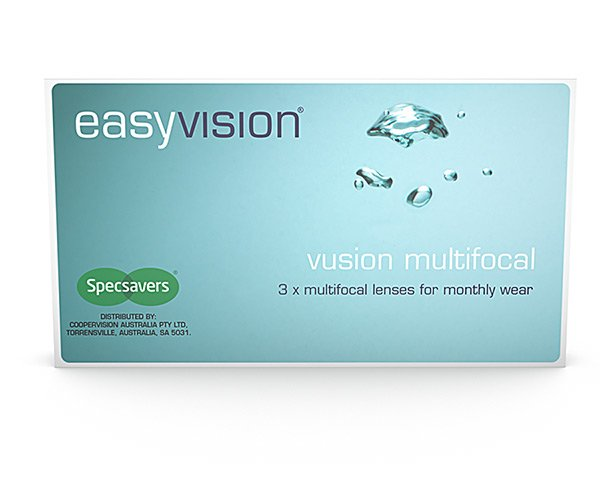 easyvision contact lenses - easyvision Vusion Multifocal