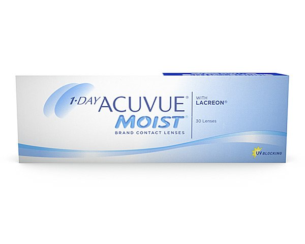 Acuvue contact lenses - 1 Day Acuvue Moist