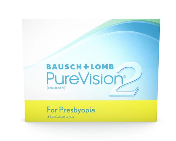 Purevision contact lenses - Purevision2 for Presbyopia