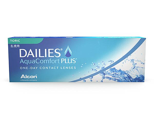 Focus contact lenses - Dailies Aqua Comfort Plus Toric