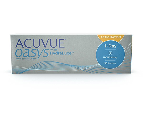 Acuvue contact lenses - 1 Day Acuvue Oasys for Astigmatism