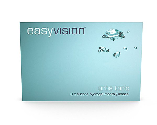 easyvision contact lenses - Easyvision Orba Toric Monthly