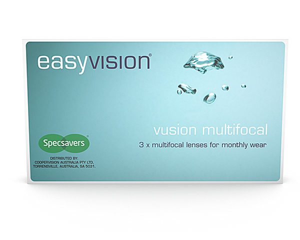 easyvision contact lenses - Easyvision Vusion Multifocal Monthly
