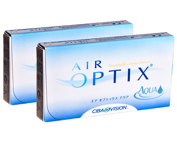 Air Optix contactlenzen - Air Optix Aqua 6 lenzen