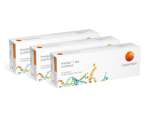 Proclear contactlenzen - Proclear 1 Day Multifocal 90 lenzen
