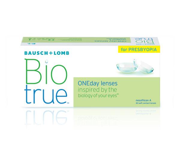 Biotrue contactlenzen - Biotrue ONEday for Presbyopia