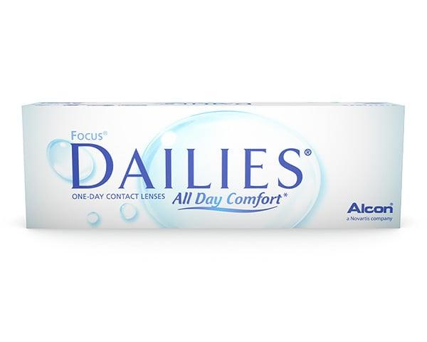 Dailies contactlenzen - Focus Dailies All Day Comfort