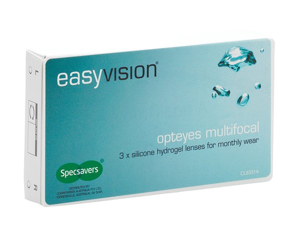 easyvision kontaktlinser – easyvision Opteyes Multifocal