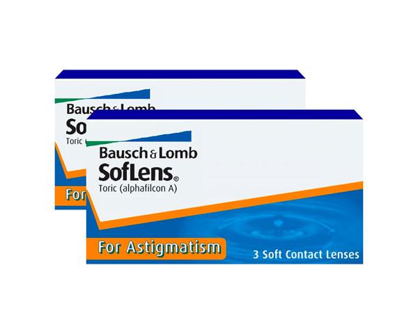 Soflens kontaktlinser – SofLens Toric for Astigmatism 6 linser
