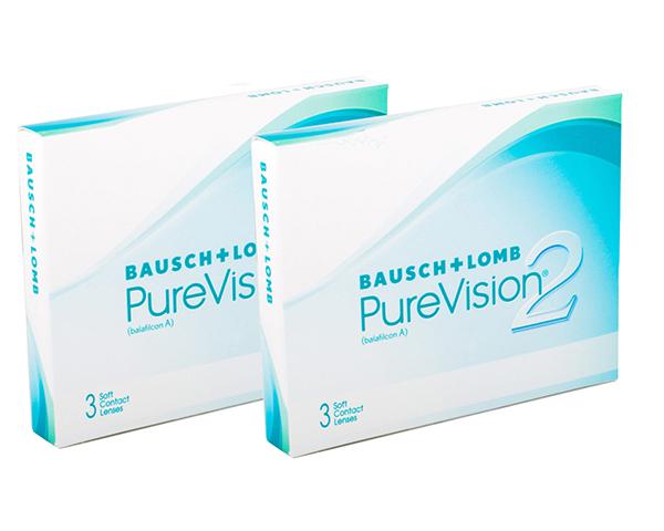 Purevision kontaktlinser – Purevision2 6 linser