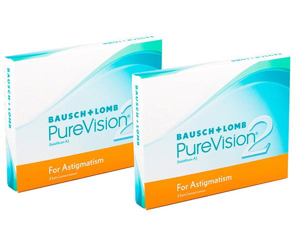 Purevision kontaktlinser – Purevision 2 for Astigmatism 6 linser