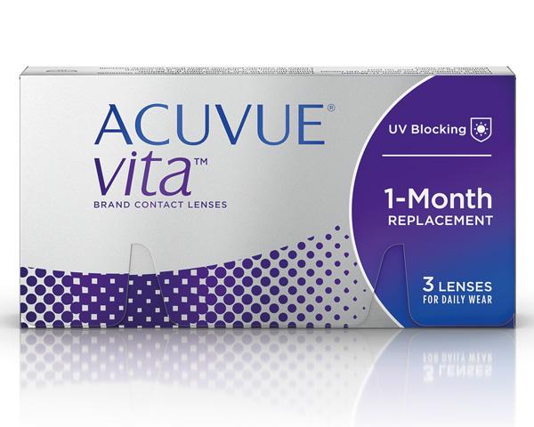 Acuvue kontaktlinser – Acuvue Vita