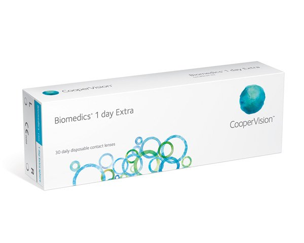 Biomedics kontaktlinser – Biomedics 1 Day Extra