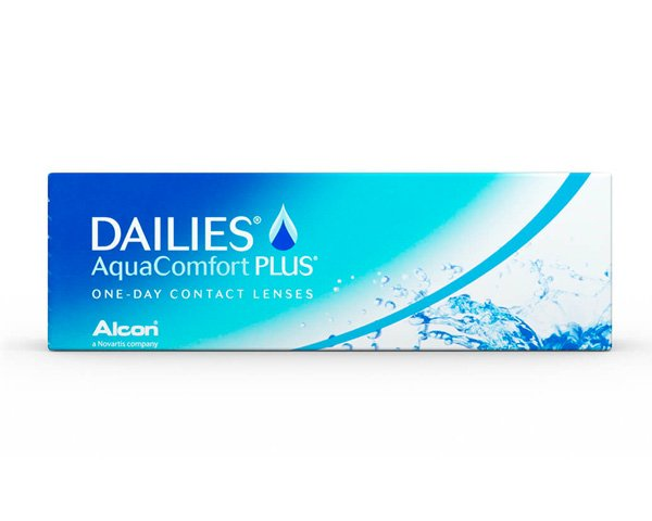 Dailies contact lenses - Focus Dailies Aqua Comfort Plus