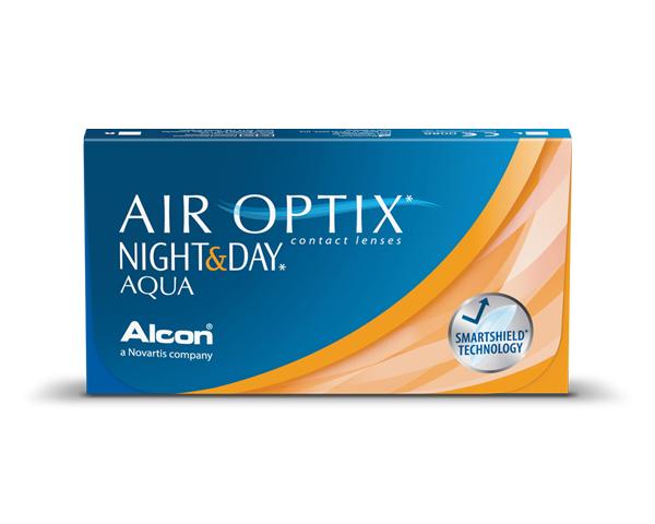 Air Optix contact lenses - Air Optix Night & Day Aqua 6 Pack