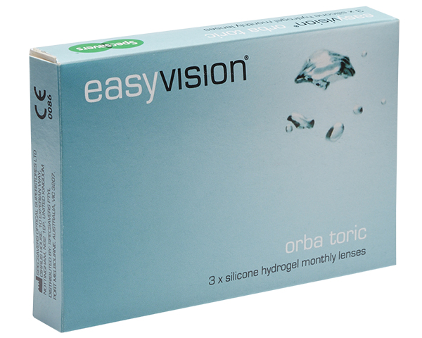 easyvision contact lenses - easyvision Orba Toric