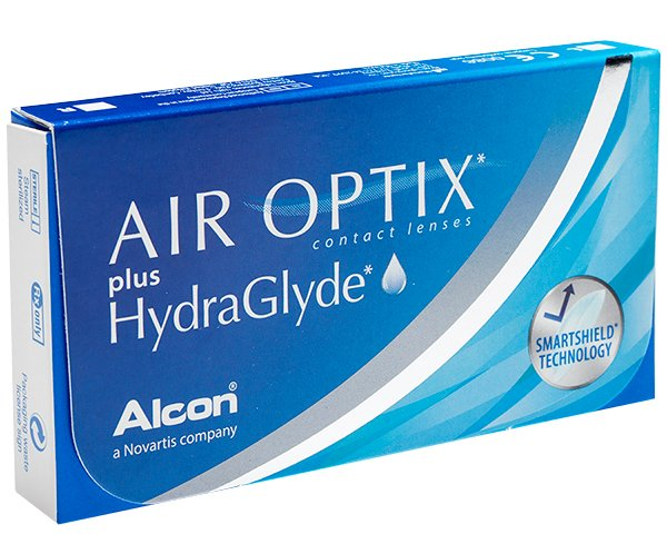 Air Optix contact lenses - Air Optix plus Hydraglyde