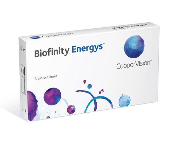 Biofinity contact lenses - Biofinity Energys