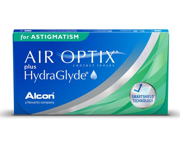 Air Optix contact lenses - Air Optix plus Hydraglyde for Astigmatism